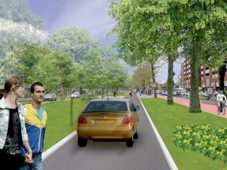 Voetgangers en fietsers krijgen ruim baan in definitief ontwerp