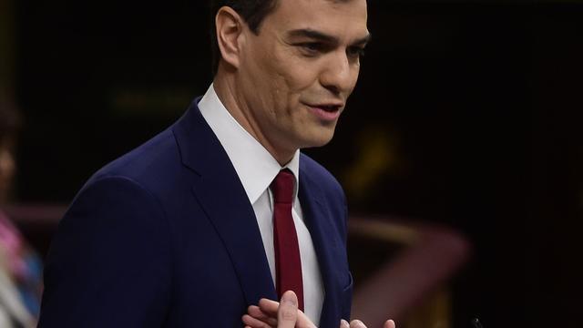 Leider PSOE niet verkozen tot premier Spanje