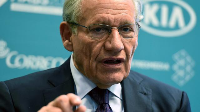 Lezing Watergate-journalist Bob Woodward in RAI Theater afgelast