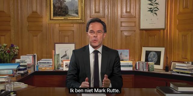 De Correspondent maakt deepfakevideo met Mark Rutte over klimaatcrisis