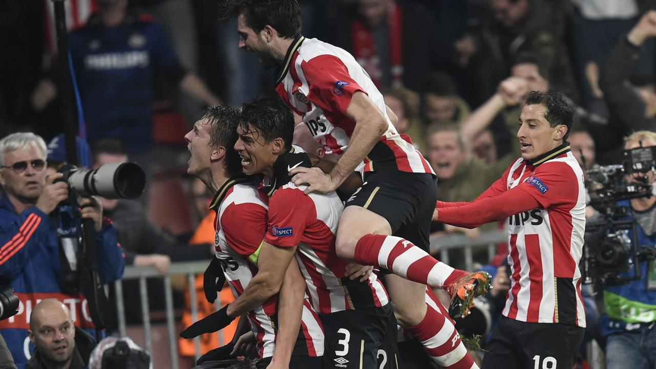 PSV loot Atletico in achtste finales Champions League