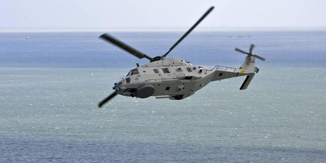 Helikopter van Defensie bij Aruba stortte neer in zicht van marineschip