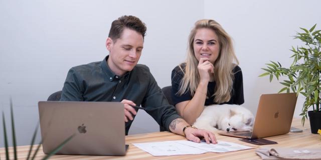 Een bedrijf beginnen met je partner: 'We zijn 23 uur per dag samen'