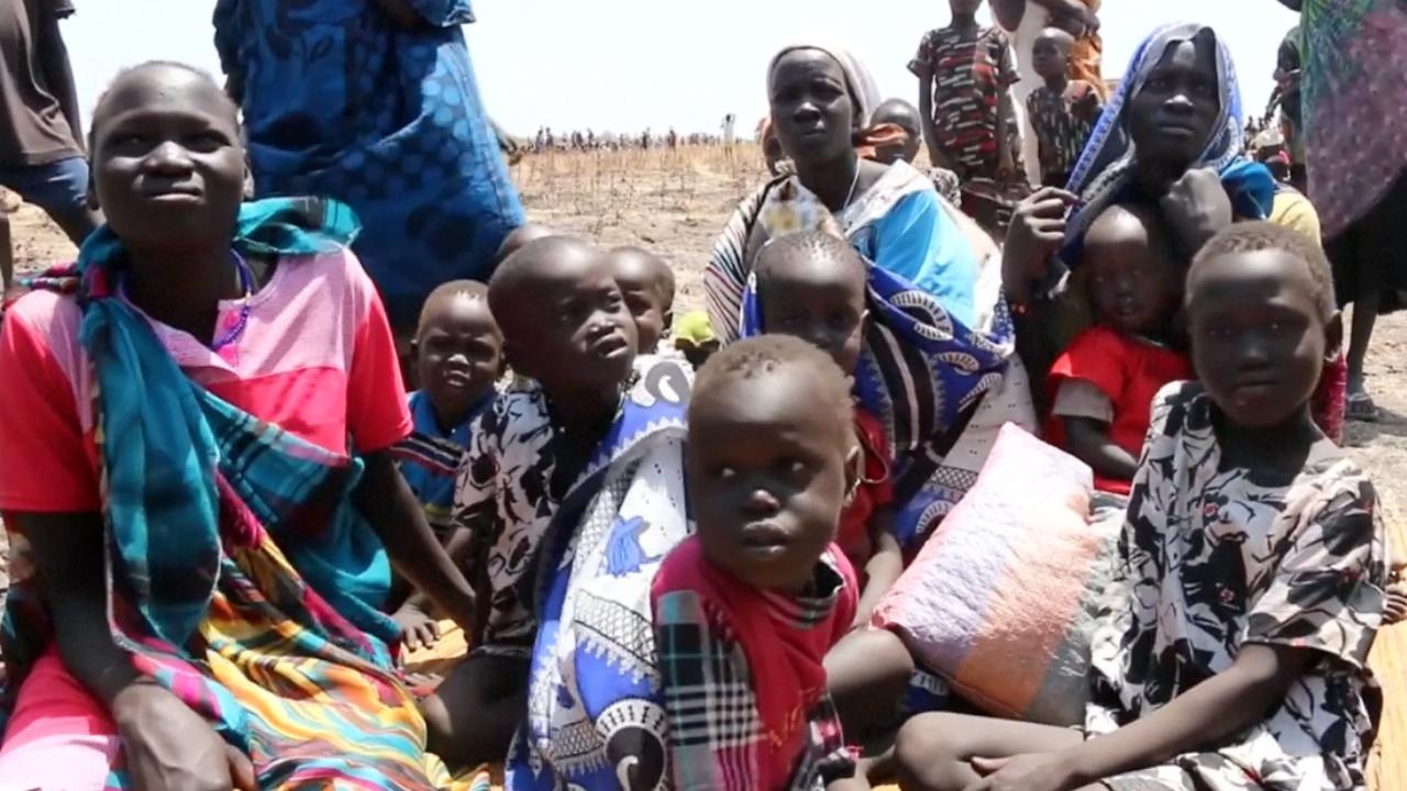 Hongersnood en politieke onrust teisteren Zuid-Sudanezen