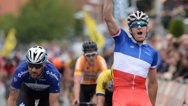 Démare klopt Boonen in derde etappe Ronde van België