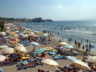 Hitte in Turkije en buien in Noord-Italië