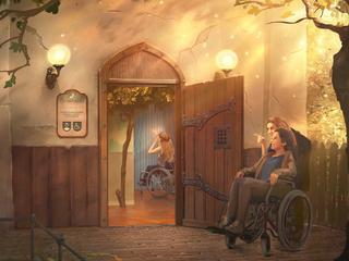 Gast met beperking hoort, ziet, voelt en ruikt hetzelfde in Virtuele Droomvlucht