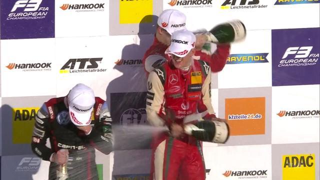 Zoon van Michael Schumacher wint Europese Formule 3