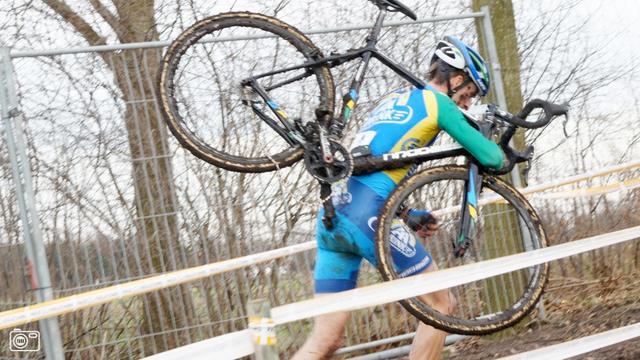 Nikki Harris en Stan Godrie starten in cyclocross