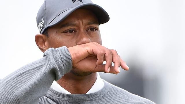 Woods denkt dat hij cut nog kan halen op Brits Open