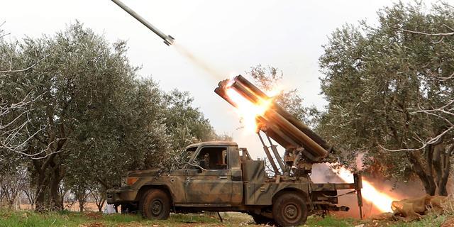 Syrische rebellen starten offensief nabij Damascus