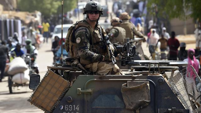 Drie Franse militairen gedood in Mali