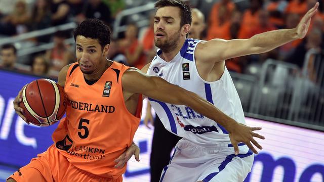 Basketballers loten Duitsland in EK-voorronde