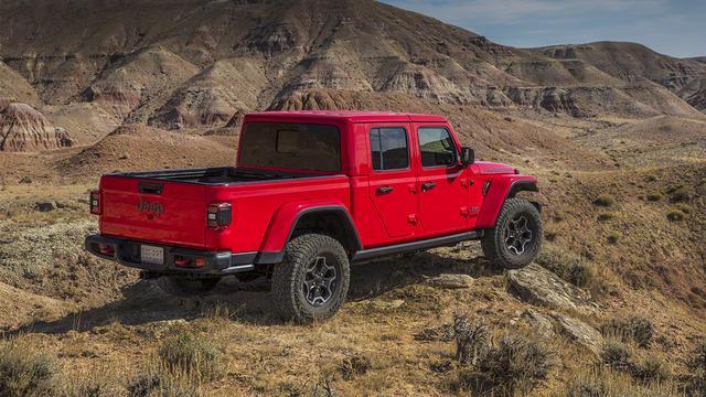 Jeep na meer dan kwart eeuw terug met pick-uptruck