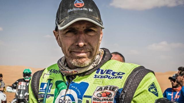 Motorcoureur Edwin Straver (48) week na val in Dakar Rally overleden