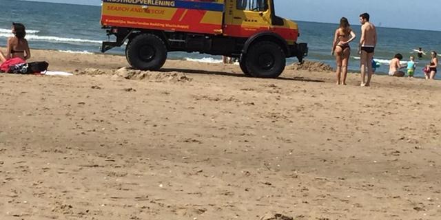 Man vermist bij strand Scheveningen