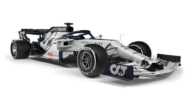 Scuderia AlphaTauri presenteert blauw-witte Formule 1-auto