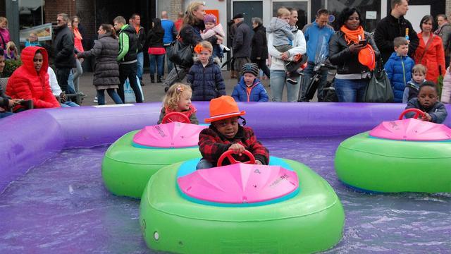 Roosendaal toont karakter tijdens gure Koningsdag