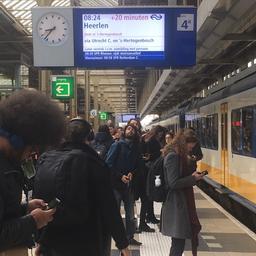 Treinverkeer rondom Utrecht en Amsterdam ernstig verstoord