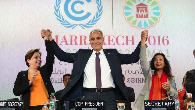 Klimaatconferentie VN bagatelliseert invloed Trump op klimaatverdrag