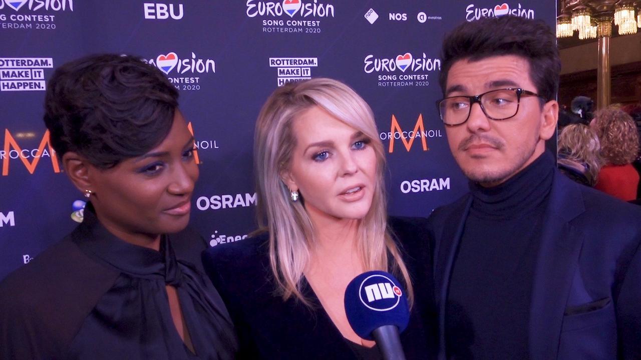 Vuurproef Chantal, Jan en Edsilia: 'Blij dat we tong niet inslikten'