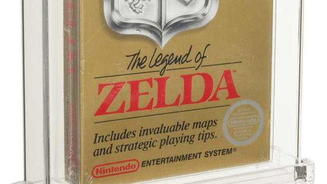 The Legend of Zelda-spel in een speciale beschermdoos