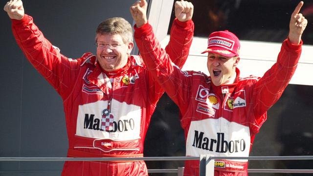 Voormalig teambaas Brawn heeft hoop op herstel Schumacher