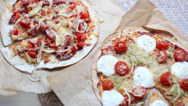 Recept van de dag: Snelle pizza wrap