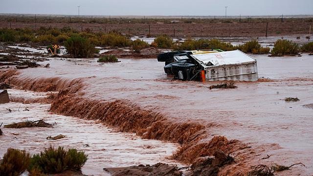 Zesde etappe Dakar Rally geschrapt vanwege zware regenval