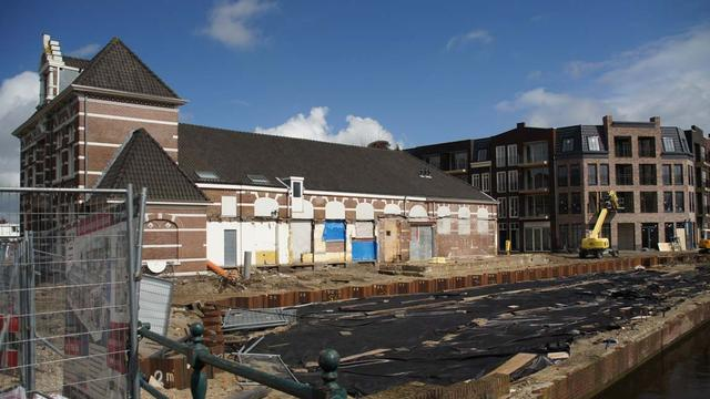 Gestart met bouw van nieuwe serre aan Nutsgebouw