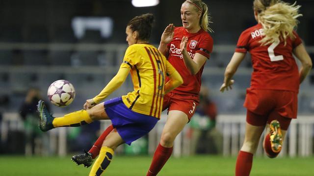 Trainer Veurink ondanks uitschakeling trots op vrouwen FC Twente