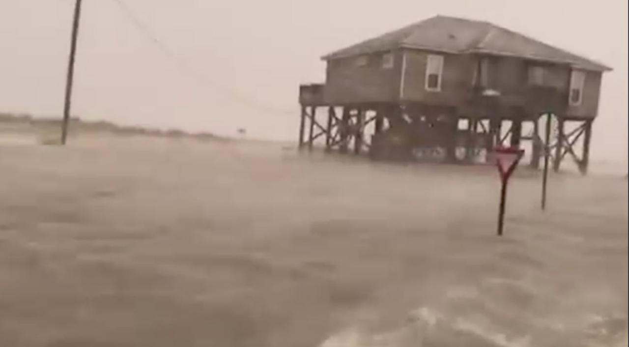 Storm Gordon veroorzaakt woeste zee en overstromingen in VS