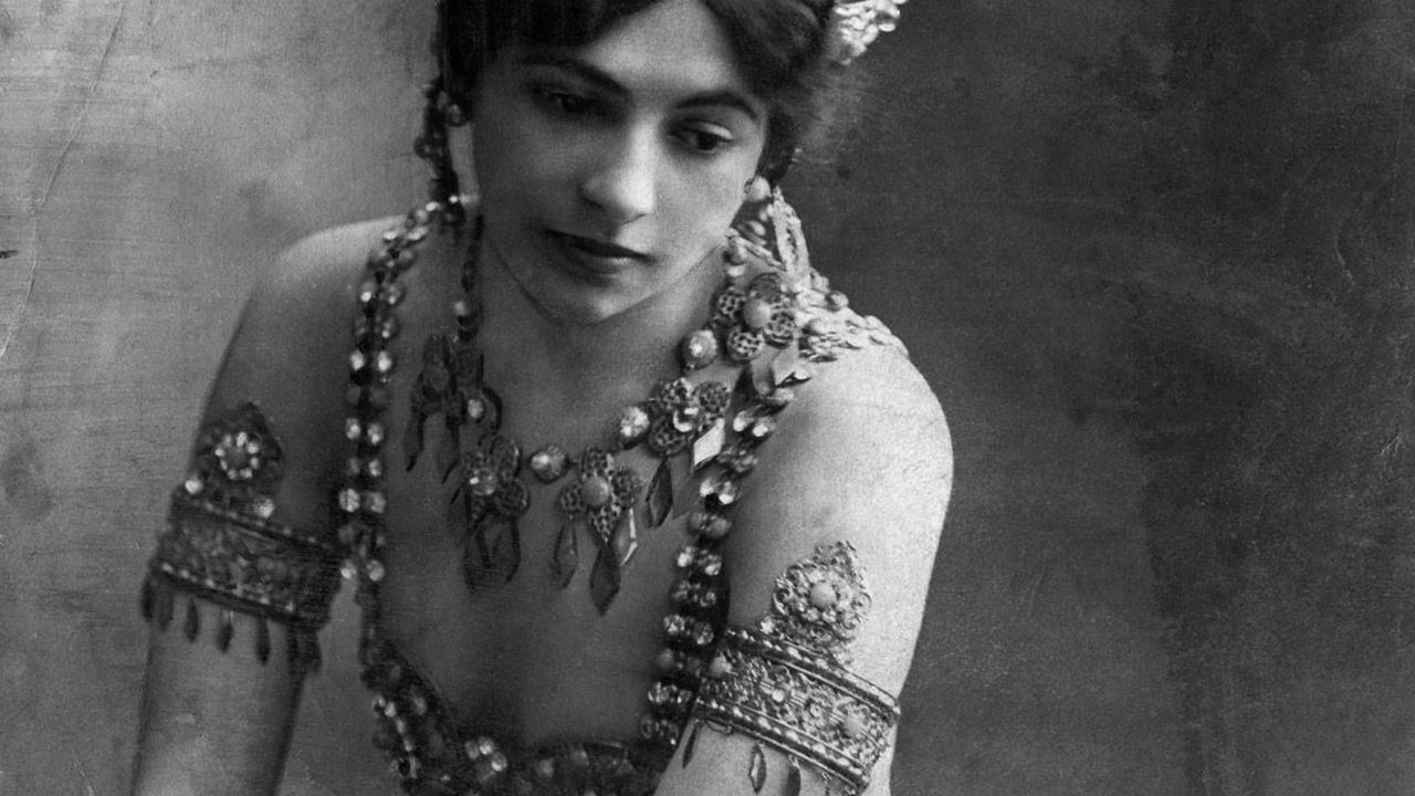 Carrière naaktdanseres en spion Mata Hari 100 jaar geleden beëindigd