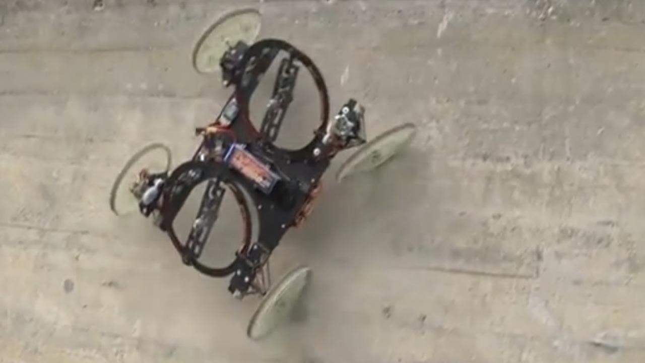 Robot kan muren beklimmen