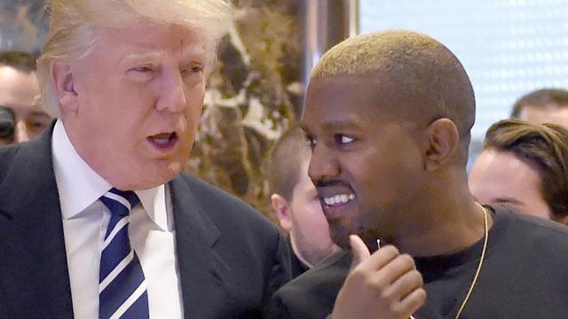 Kanye West brengt nieuw nummer uit over Donald Trump