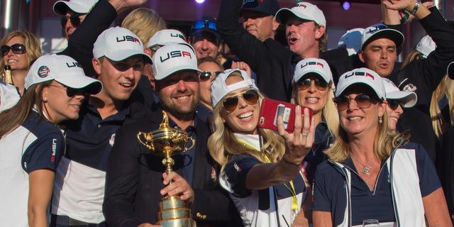 VS verslaat Europa voor het eerst sinds 2008 in strijd om Ryder Cup
