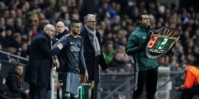 Bosz 'ziek' van nederlaag Ajax in heenduel met FC Kopenhagen