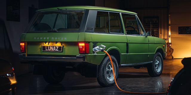 Elektrische versie van originele Range Rover in aantocht