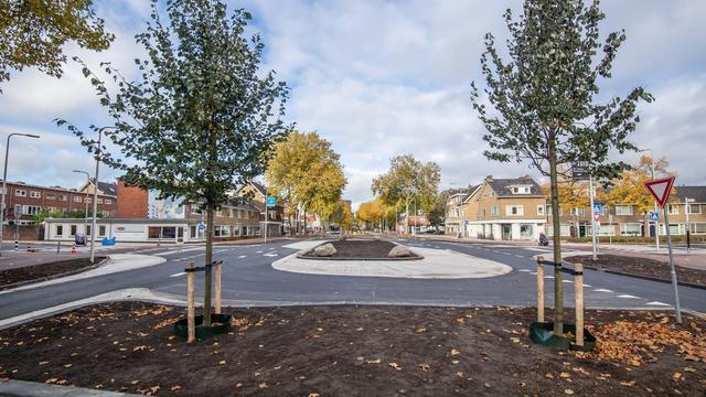 Gemeente Utrecht klaar met herinrichting van verkeersplein 't Goylaan