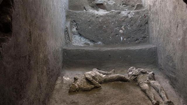 'Zeer goed bewaarde' lichamen gevonden van overleden inwoners Pompeï