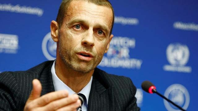 UEFA-voorzitter Ceferin ziet schrappen seizoen als serieuze optie