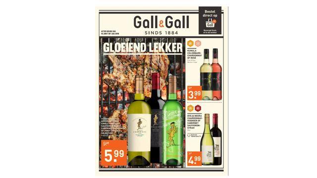 Bekijk hier de folder van Gall & Gall
