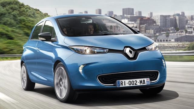 Renault vernieuwt de Zoe