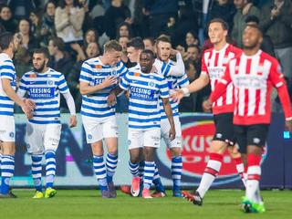 Bekijk de samenvatting van De Graafschap-Jong PSV (2-1)