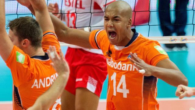 Volleyballers op WK verrassend te sterk voor olympisch kampioen Brazilië