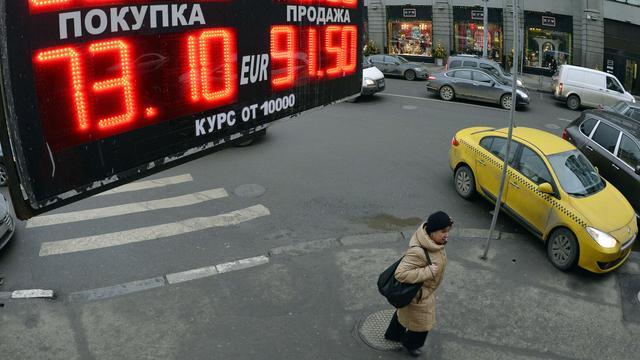 Krimp Russische economie zwakt af