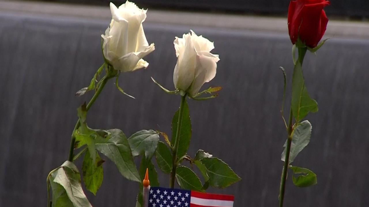 Families herdenken slachtoffers aanslagen 11 september in New York
