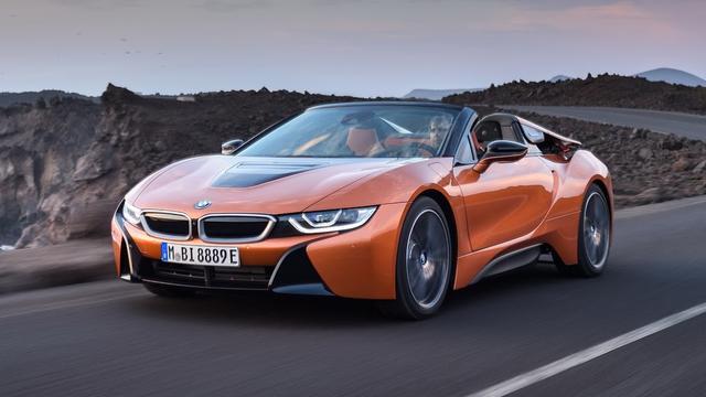 BMW lanceert i8 Roadster