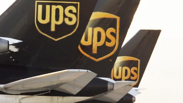 Pakketbezorger UPS groeit fors in vierde kwartaal