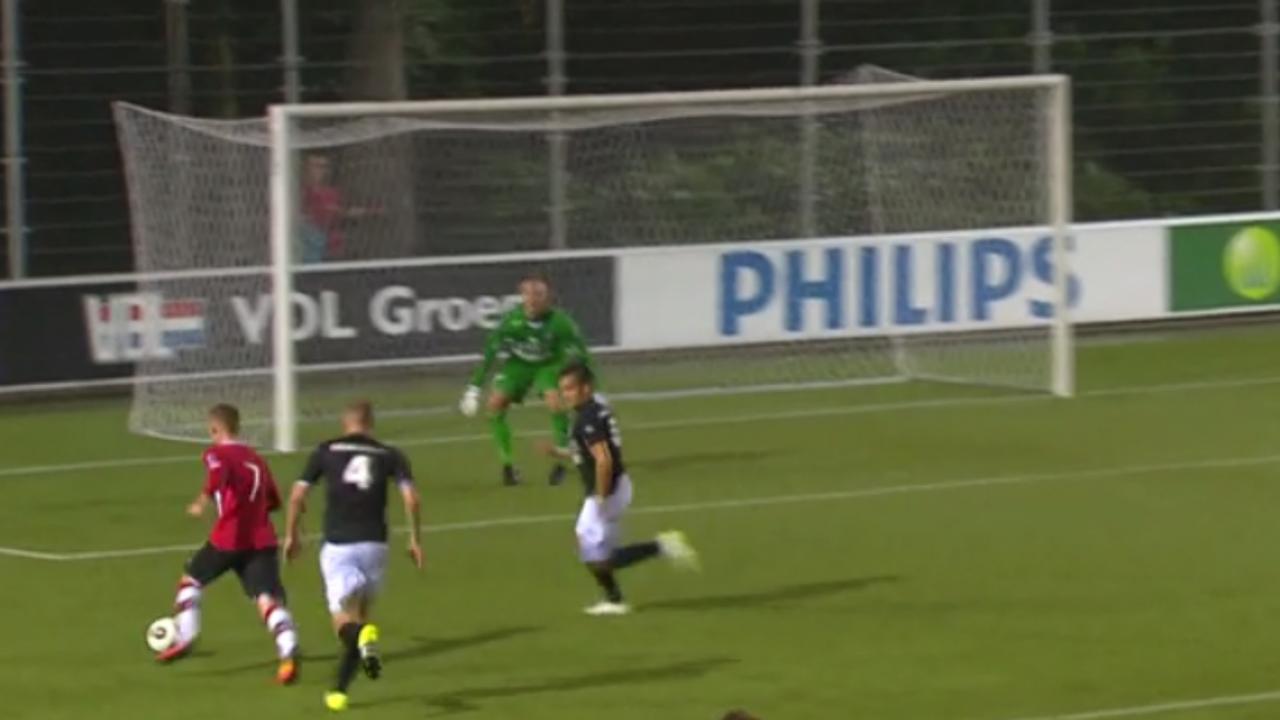 Samenvatting Jong PSV-FC Emmen